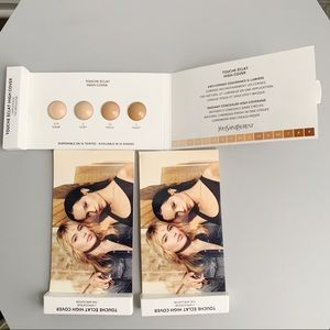 Yves Saint Laurent Touche Eclat High Cover Samples